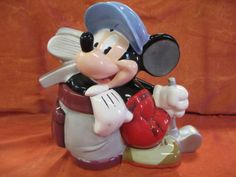 Mickey Mouse Limited Editon of 350 Cookie Jar by Disney Auctions
