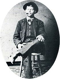 Real -Frank C. Stilwell (1856 - March 20, 1882) was an outlaw Cowboy who murdered at least two men in Cochise County during 1877-1882. He was closely involved in the events leading up to and following the Gunfight at the O.K. Corral on October 26, 1881, and was suspected in the murder of Morgan Earp on March 18, 1882. Two days after Morgan's death, Frank Stilwell was killed in retribution by Deputy U.S. Marshal Wyatt Earp in a Tucson train yard.- ... JamesAZiegler.com