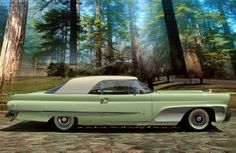 1958 Lincoln Continental Coupe