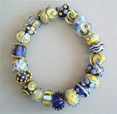 Gorgeous Lamp Work Beads By Bead Tree - The Beading Gem's Journal