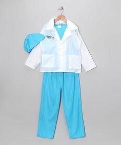 Look at this #zulilyfind! Blue & White Doctor Dress-Up Set - Kids by Story Book Wishes #zulilyfinds