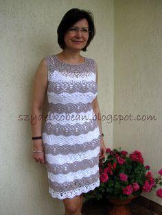 MÓJ ROBÓTKOWY ŚWIAT: Prosta sukienka na lato i wspomnienie zlotu