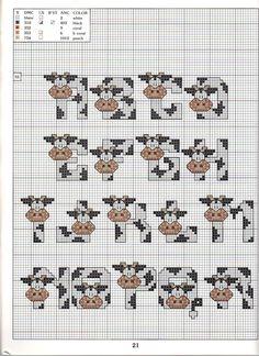 Cow ABC #1/2