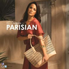 @KC_Concepcion matches the summer heat with the hottest bags from Parisian.