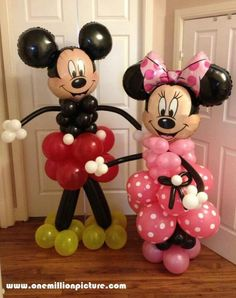 Balloon decor for the Mr and Mrs