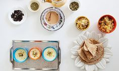 Get togethers: badaam phirni; it's like a more elegant cousin of traditional rice pudding.