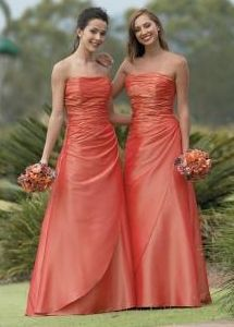 Burnt Orange Bridesmaid Dresses Cheap Today! Burnt Orange Bridesmaid Dresses Bargain Today! Flattering for a number of body types and ages