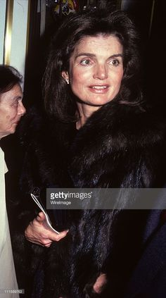Jackie Onassis during Jackie Onassis at Broadhurst Theatre for Opening Night of 'Amadeus' at Broadhurst Theatre in New York, United States.