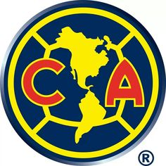 Being my parents from mexico i love soccer and my favorite team is club america. Logo Del America, Bambam, Mexican Soccer League, Football Mexicano, Soccer Logo, Sports Logo, Soccer Teams, Team Page, Soccer Kits