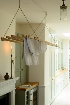 a deVOL Laundry Maid hanging in the Islington N1 Kitchen