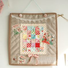 I've got some teeny squares that need a home. This might just be it.