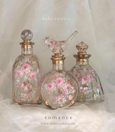 These bottles are beautiful