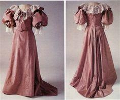 Pattern #101 Great late-1800's walking skirt pattern.