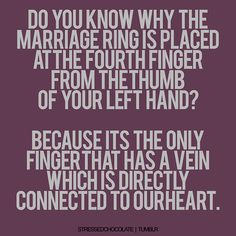 Marriage is powerful.
