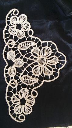 visual result of Lace Anglez models - Dantel . - visual result of Lace Anglez models – dumbbell - Hungarian Embroidery, Lace Embroidery, Embroidery Patterns, Russian Crochet, Irish Crochet, Needle Lace, Bobbin Lace, Crochet Doilies, Crochet Lace