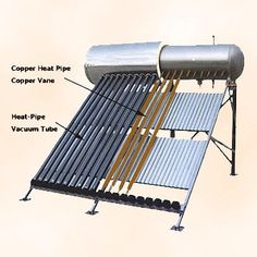 Solar powered tubes product review. The very best of both models of solar powered tubes given which include both of the solar powered lighting tubes in addition to solar heating tubes. http://netzeroguide.com/solar-tube.html Solar-Water-Heater-SPP-470-H58-1...