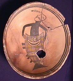 Mimbres bowl - an ancient Native American culture centered on the present-day United States-Mexican border region of southern New Mexico and Arizona and northern Sonora and Chihuahua states in Mexico.The American Indian culture known as the Mogollon lived in the southwest from approximately AD 300 until sometime around AD 1300