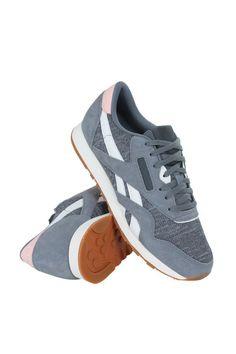 72ae2fc045298d Aq9827 women cl nylon wr reebok sneakers grey