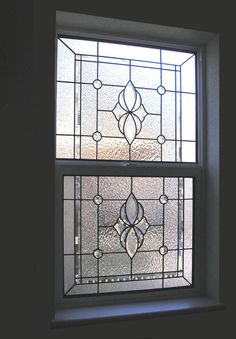 Bathroom Window Stained Glass