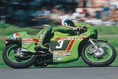 Jean Françoise Balde Kawasaki 250 1972