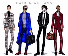 Hayden Williams Fashion Illustrations: January 2015