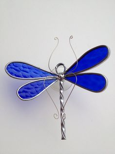 Beautiful Textured Cobalt Blue Glass by seasonaltreasures on Etsy, $20.00