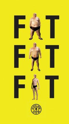 Getting fit is an attitude towards life. Looking good is just the side effect of being fit. Get Fit or Fat?
