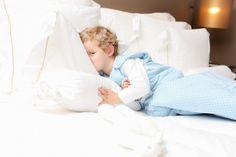 Andersen blue sleepsack (toddler), by Trois Poules www.troispoules.com
