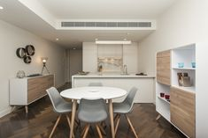 Melbourne apartment investment property - Ferrari Interiors Melbourne Apartment, Investment Property, Apartments, Ferrari, Garden Design, Investing, Interiors, Table, Furniture