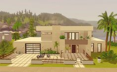 Via Sims: New Beach House - The Sims 3
