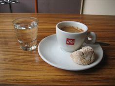 Perfect illy espresso