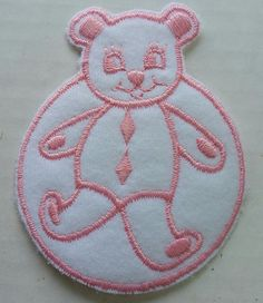 Baby Patch Pink Teddy Circle Iron Applique Embroidered Cute Sew Pcs Badge Patches Craft Girl Mix Appliques 5 4 Infant Diy Garment Sewing 2 New Jacket Patches Emblem Upick Nation Trim X3 Standard Logo Motif Appliques Cloth Embroidery Rose Trim Embellished Embellishments Embroider Embellish Style Colorful Added Addition ** You can get additional details at the image link.