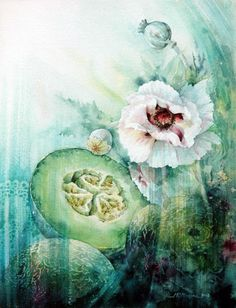 Fine Art and You: Lovely Floral Paintings By Marie Claire Moudru
