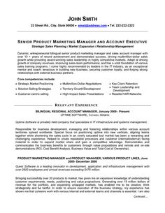 click here to download this senior product manager resume template httpwww sales resumemarketing