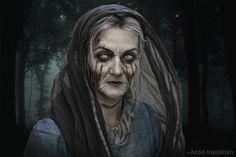 Catelyn Stark as Lady Stoneheart