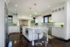 Large fresh kitchen