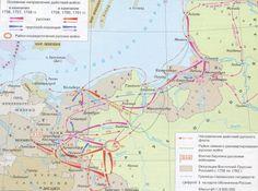 Семилетняя война 1756-63, действия русских войск