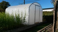 Serre tunnel largeur 3 m Saumuroise Serre Tunnel, Outdoor Gear, Tent, Aquarium, Small Greenhouse, Small Gardens, Green Houses, Vegetable Gardening, Aquarius