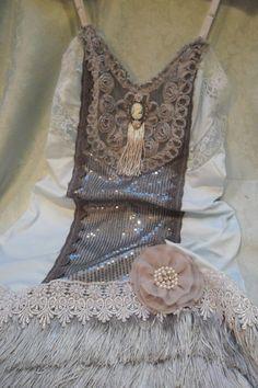 FLAPPER Downton Abbey 1920s Speakeasy Gtasby  Vintage by pinkpurse, $114.00 Good God! Epic!