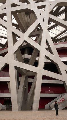 "Beijing's National Stadium ""Bird's Nest"" by Herzog & de Meuron"