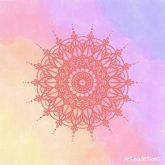 Art addiction (@art_addiction0) • Fotos y videos de Instagram Mandala Art, Art Addiction, Cute Wallpapers, Instagram, Tapestry, Videos, Home Decor, Mandalas, Colors