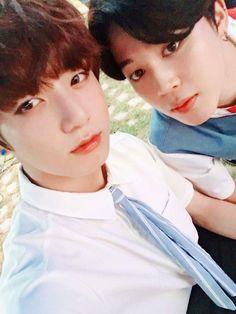 Jimin and Jungkook Twitter