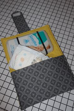 Diaper and Wipe Clutch PDF Pattern. $5.50, via Etsy.