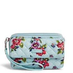Vera Bradley Iconic RFID All in One Crossbody in Water Bouquet, 2018 Collection Cute Handbags, Cheap Handbags, Handbags Online, Handbags On Sale, Purses And Handbags, Luxury Handbags, Popular Handbags, Fabric Handbags, Luxury Purses