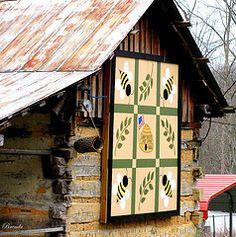 honeybee barn quilt | Honey Bee Kentucky