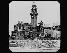 South Brisbane Town Hall, Cnr of Vulture and Graham Sts, 1892. South Brisbane City Council occupied the building from 1892 until 1925 when the council was disbanded.  Afterwards the building was used for a Council Works Depot, the American Armed Services during World War II, flats for Council Engineers families recruited from England after the war, Qld Conservatorium of Music 1957; South Brisbane College of Technical and Further Education 1979. In 1999 it was bought by Somerville House…
