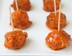 Buffalo Ranch Chicken Meatballs- I think mixing the ranch seasoning in with the meat would be good!