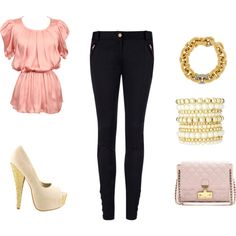 A Touch if Elegance, created by caitlyn214 on Polyvore
