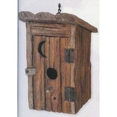 Outhouse Bird House