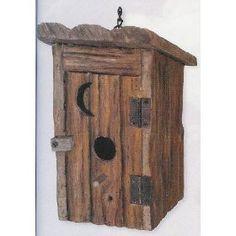 Outhouse Bird House